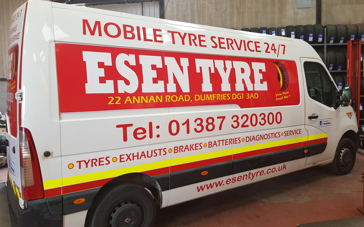 Esen Mobile Tyre Fitting Dumfries
