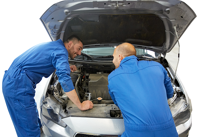 Mechanic servicing a vehicle - Car Servicing Dumfries